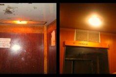 Косметичний ремонт ліфта!