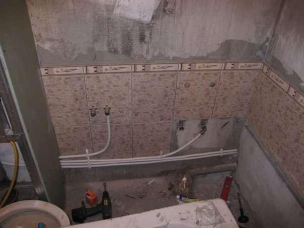 Ванна в новостройке ремонт своими руками